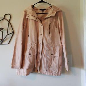 Baby Pink Trench Coat NWOT